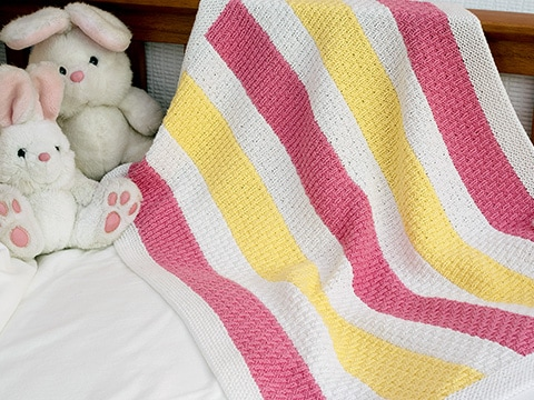 Liliwen Baby Blanket Knitting Pattern by Wyndlestraw Designs - www.wyndlestrawdesigns.com
