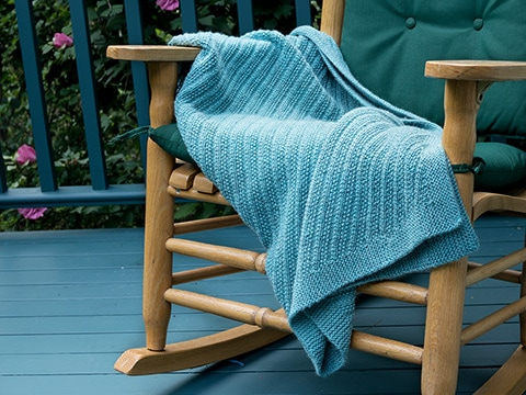 Ennismore Lap-Rug Knitting Pattern by Wyndlestraw Designs - www.wyndlestrawdesigns.com