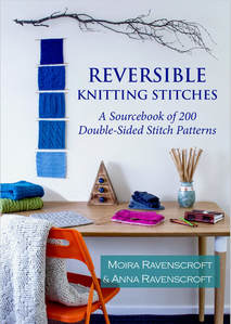 Reversible Knitting Stitches Book by Moira Ravenscroft & Anna Ravenscroft - www.wyndlestrawdesigns.com